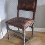 Barockstol från högbarocktiden