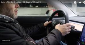 Mer detaljfinesser i Tesla Model 3