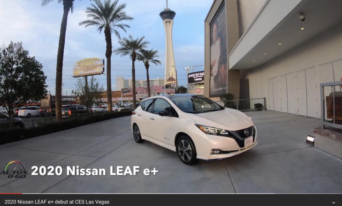 Nissan Leaf e-Plus lanserad på CES 2019. 62 kWh – Svenska priset avslöjat. Ingen aktiv kylning – Video!