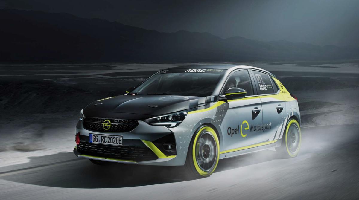 ADAC Opel Corsa-e Rally