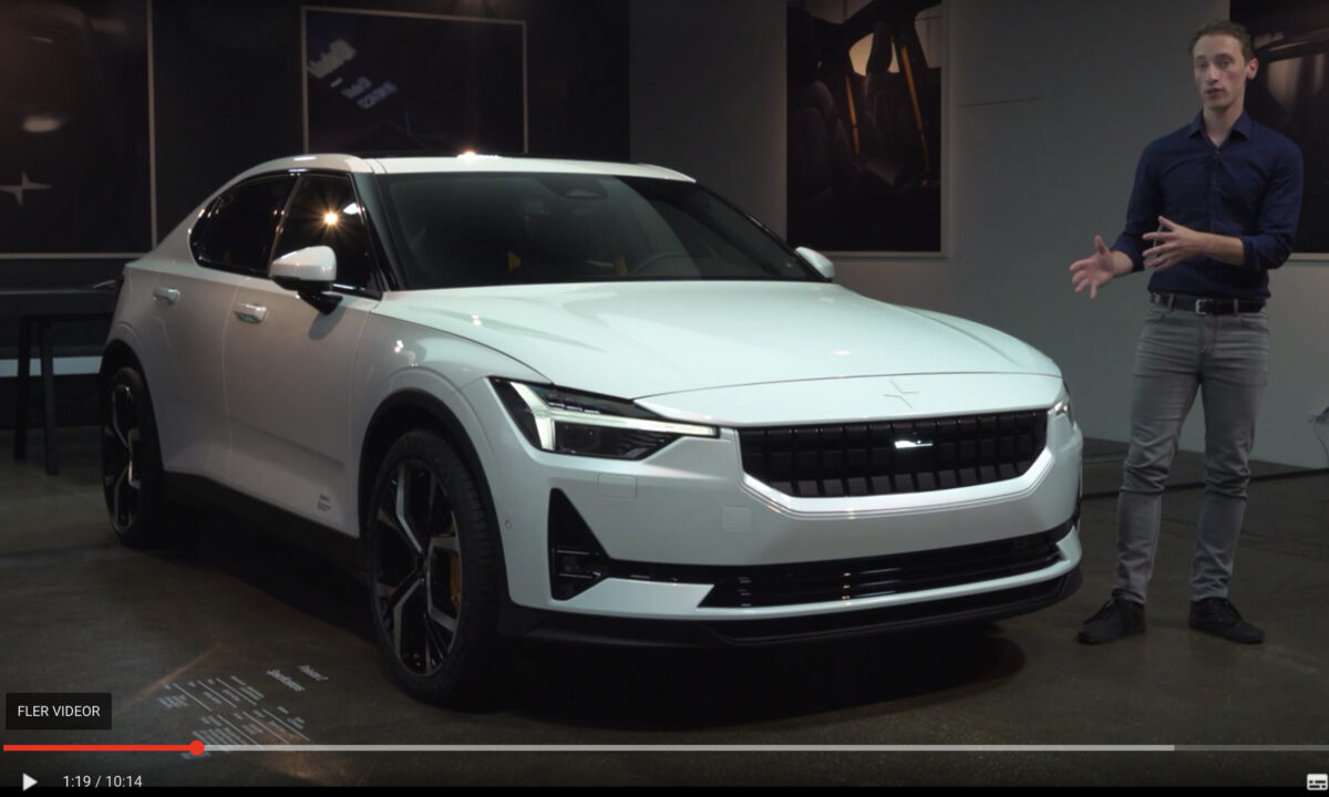 Thomas Ingenlath, Polestar – Electric vehicles will forever change how cars look! Polestar 2 + Video!