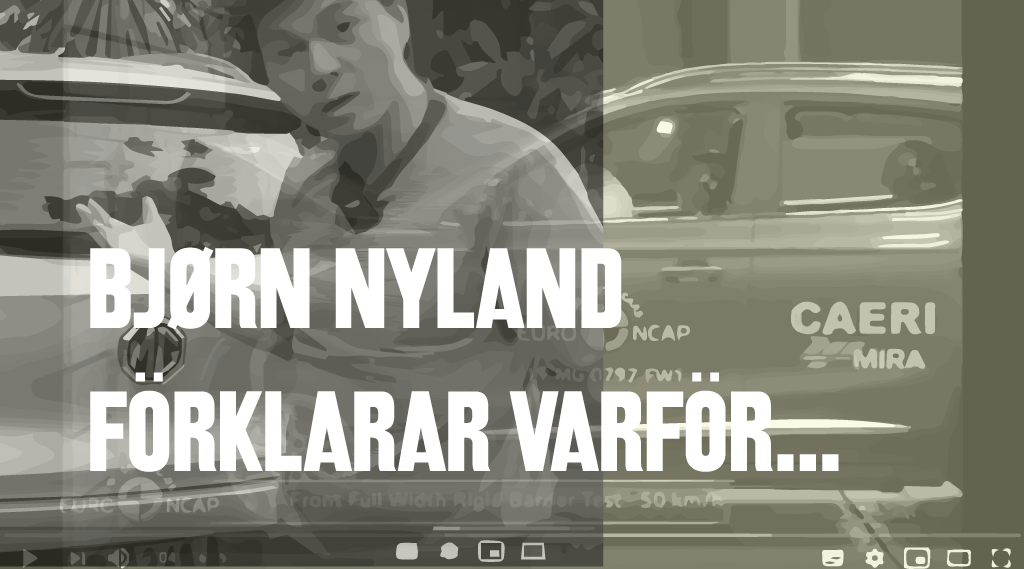 Bjørn Nyland förklarar varför MG ZS EV fick 5 ★★★★★ i Euro NCAP