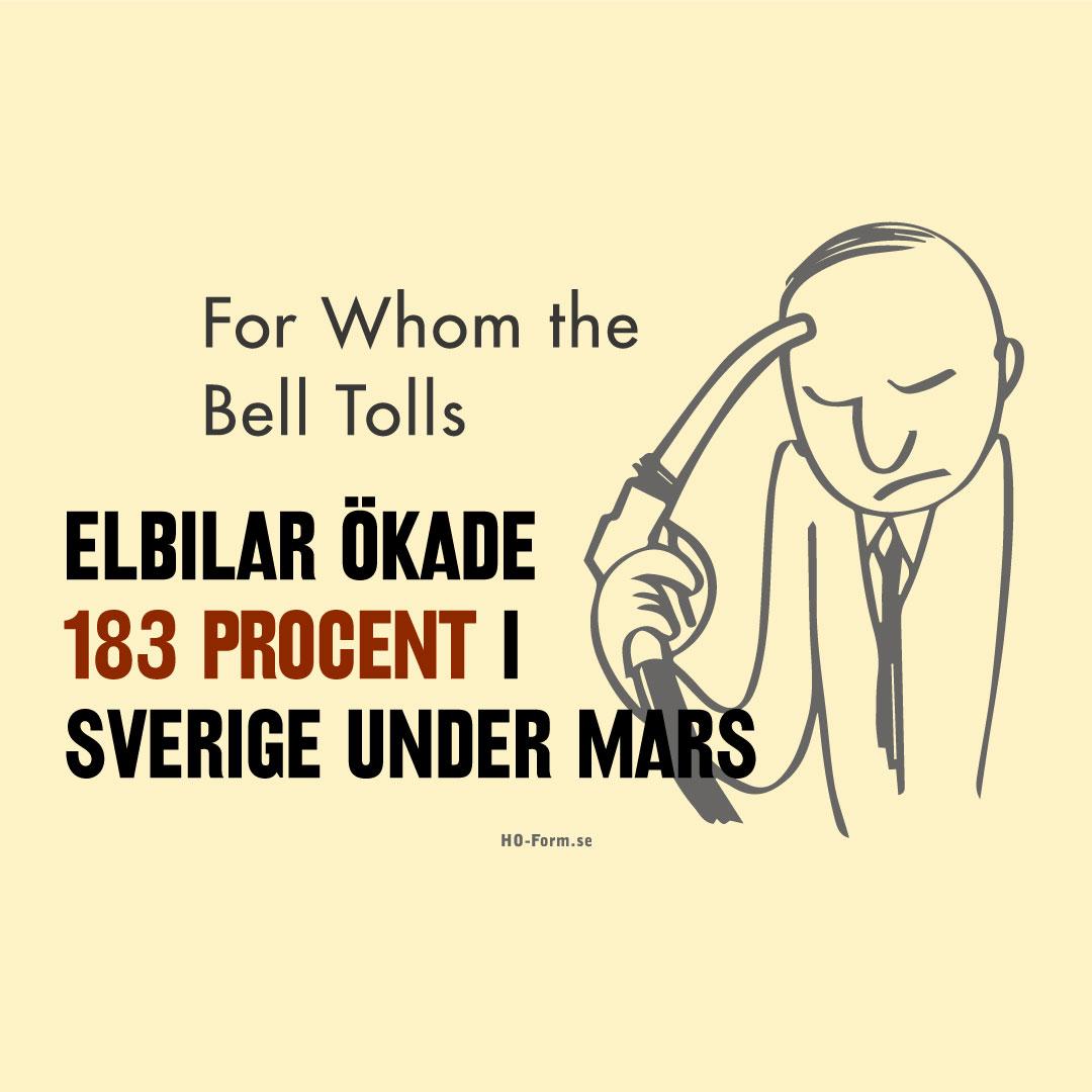 Genombrottet är här! Elbilar ökade 183 procent på den svenska marknaden.