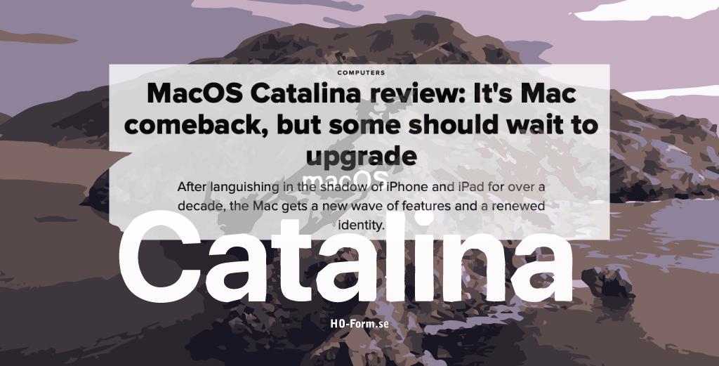 MacOS Catalina är här – skall du uppgradera, eller…
