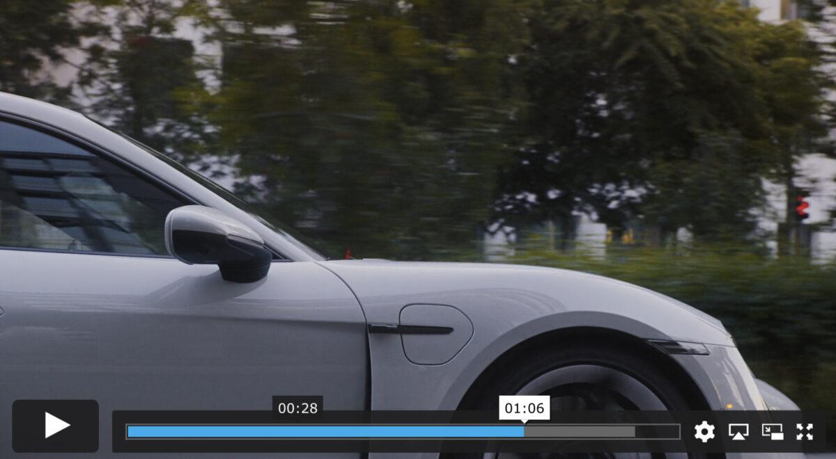 Till sist, en bra reklamfilm för Porsche Taycan