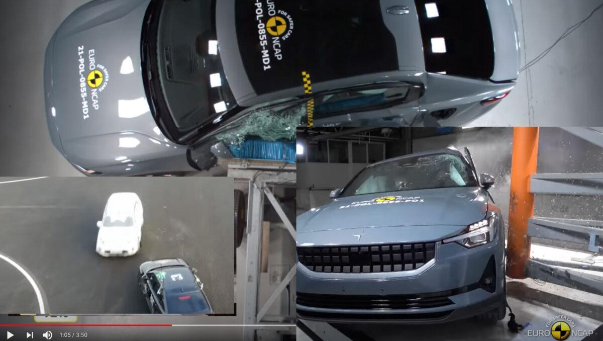 Euro NCAP har testat Polestar 2 – Fick 5 stjärnor men inte 100%
