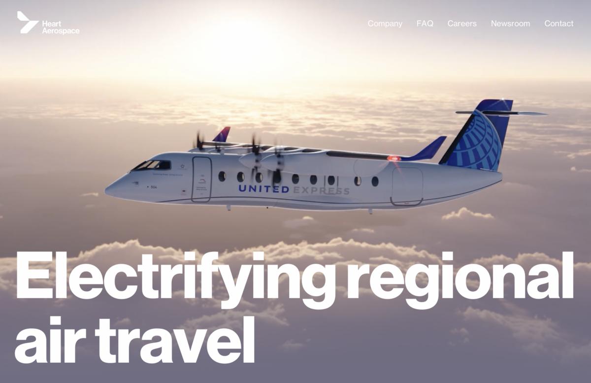 Genombrott: United Airlines köper 100 elflygplan från Svenskt bolag !!